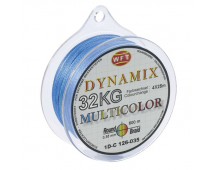 Шнур плетёный WFT Round Dynamix 32 кг 300м (multicolor)