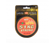Плетёный шнур WFT Strong Multicolor 51 kg 300м