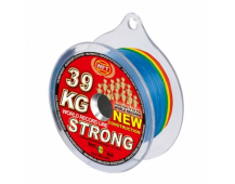 Плетёный шнур WFT Strong Multicolor 67 kg 600м