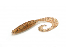 "Силиконовая приманка Bait Breath Curly Grub 2.5"" цв. #Ur25"