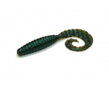 "Силиконовая приманка Bait Breath Curly Grub 2.5"" цв. #Ur28"