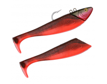 Spro Salty Beast Mega Jig Shad 470гр  Red Fish