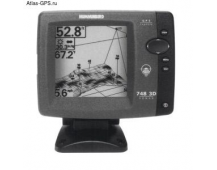 Шестилучевой эхолот Humminbird Fishfinder 748 3D