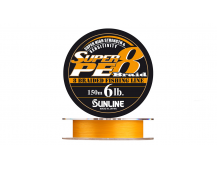 Плетеный шнур Sunline Super PE 8 Braid # 0.6