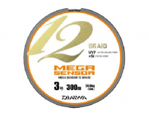 Плетеный шнур Daiwa Megasensor 12 Braid  #1.5