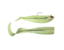 Джиг оснащенный Savage Gear Cutbait Herring Kit (Green glow) 270гр