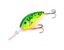 Воблер Bomber Fat Free Shad BD7F 12-16ft ( Dances Fire Tiger )