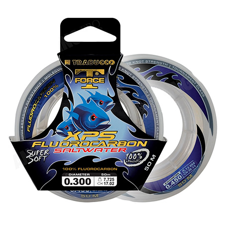 FLUOROCARBON 100% T-FORCE XPS SALTWATER