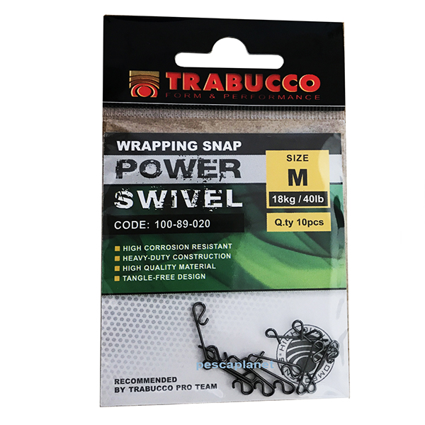 WRAPPING SNAP POWER SWIVEL